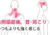 右側頭部痛・肩こりの鍼治療による改善例