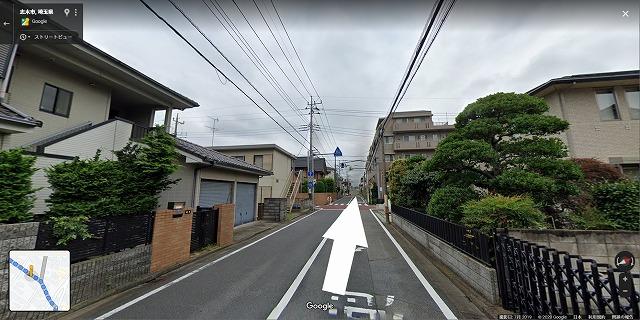 志木駅から鍼灸院まで9